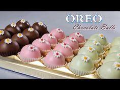[Eng Sub] 4가지 재료-오레오 초코볼 만들기 / NO Bake / 4-ingredients /OREO Chocolate Balls /Easy Recipe / 초콜릿 쿠키 - YouTube