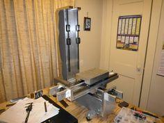 DIY aluminum vertical mill build