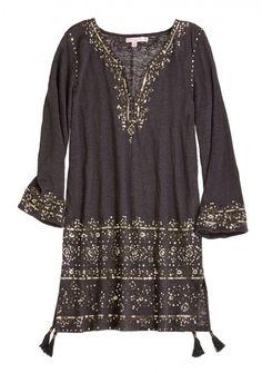 Sequin embellished tunic