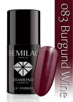 Lakier hybrydowy Semilac 083 Burgund Wine - 6 ml