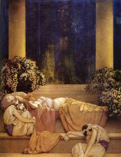 John Collier ~ Sleeping Beauty