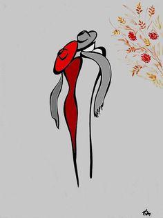 Художник Татьяна Марковцева Line Drawing, Painting & Drawing, Pencil Drawings, Art Drawings, Drawing Faces, Art Pastel, Minimalist Art, Doodle Art, Line Art