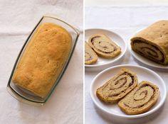Vegan Jam Bread Roll  Looks very easy