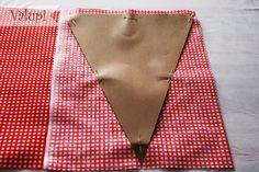 Valupi - Handmade with love: DIY - Tutorial paso a paso banderines de tela