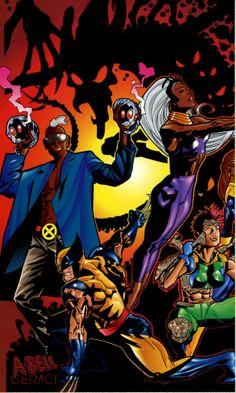 X-Men by Dusty Abell & Drew Geraci
