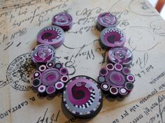 Polymer Clay Beads by TLS Clay Design by TLSClayDesign on Etsy, $15.99
