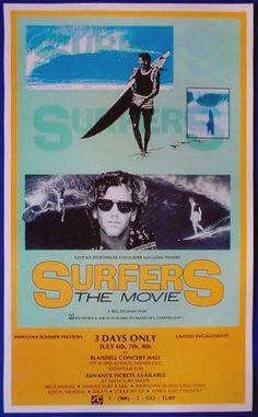 Surfers the Movie Original Poster