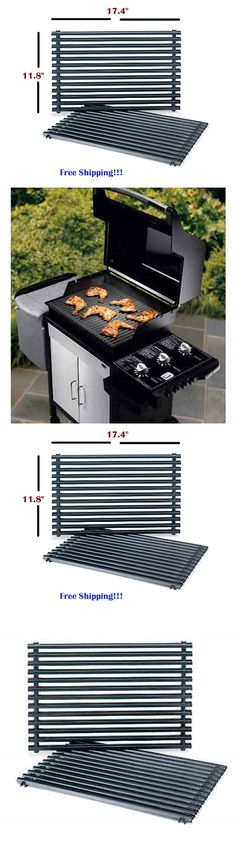 BBQ and Grill Replacement Parts 177018: 2 Gas Grill Cooking Grates Porcelain Enamel Weber Spirit Genesis Bbq Grill Part -> BUY IT NOW ONLY: $69.99 on eBay!
