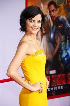 Jaimie Alexander - at the 'Iron Man 3' Premiere 2....LOVE LOVE LOVE her hair!!