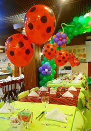 arco de balões joaninha - Google Search