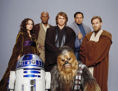 Star Wars : Episode III - La revanche des sith - Kenny Baker - Peter Mayhew - Ewan McGregor - Jimmy Smits - Hayden Christensen