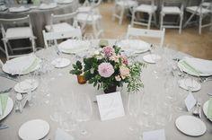 Centro de mesa. Boda de Detallerie. Centerpiece. Wedding by Detallerie.