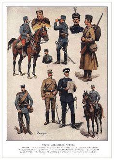 Српске униформе - Serbian Uniforms WWI