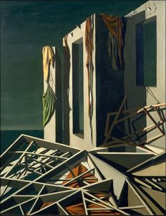 Kay Sage - 1948 - All Soundings Are Referred to High Water