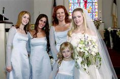 LOVE the bridesmaids dresses from Sabrina the Teenage Wich