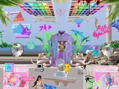 #netart #webpunk New Media Art, New Art, Pc Music, Vaporwave Art, Music Aesthetic, Crazy Outfits, My Vibe, Cyberpunk, Pixel Art