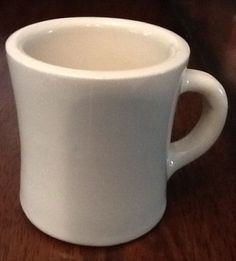 Victor Thick Heavy Diner Coffee Cup Mug Ivory Color Thick Heavy Restaurant Ware in Pottery & Glass | eBay Sold $13.59