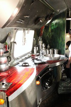 Air stream kitchen Maker Faire 2011 Scout Magazine | Flickr - Photo Sharing!