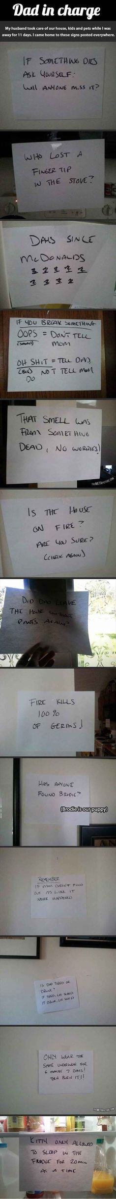 Dad's In Charge, What Could Possibly Go Wrong? - 13 Pics