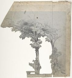 Eugene Ciceri, Design for a Stage Set at the Opéra, Paris, 1830–90