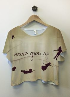 peter pan...omg! Can I please have this shirt???