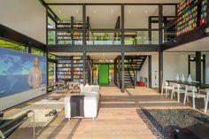 Huf Haus Modum by HUF HAUS GmbH u. Co. KG books! modern midcentury bookshelves!