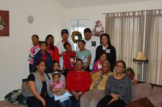 Me and all of my kids and grand kids,