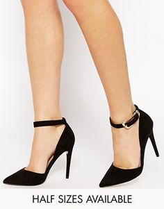 ASOS PAINT THE TOWN RED Pointed High Heels