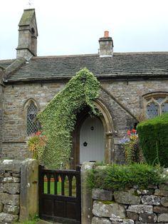 Church Cottage in Halton Gill - Yorkshire Dales, England Cozy Cottage, Cottage Homes, Mrs Marple, English Village, English Cottages, Unique Buildings, Yorkshire Dales, Yorkshire England, England And Scotland