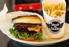See the full Steak and Shake Menu with prices here, including the steaks menu, milkshakes menu. kids menu and the Steak and Bake breakfast menu.