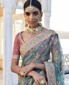 50 Latest Saree Blouse Designs For 2019 That Will Amaze You Indian Bridal Fashion, Indian Wedding Outfits, Indian Outfits, Indian Dresses, Indian Clothes, Indian Weddings, Latest Saree Blouse, Saree Blouse Designs, Shabby Chic