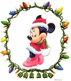 Mickey And Minnie Mouse - Christmas Clip Art Images ...