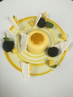 Dessert mangues mûre