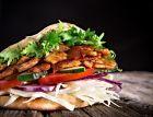 Döner kebab z pánve