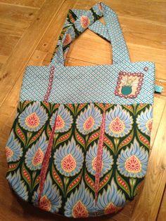 Shoppingbag by KerMelis fabric from Hamburger Liebe