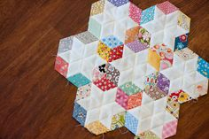 My diamond quilt is progressing, even if I failed miserably to finish even ONE piece of clothing in the alloted 7 hours for kid's clothing week and feel like a sewing loser this week. My sister-in-law and brother-in-law came to visit this weekend (hi Erik!), and I kept my diamonds on hand for…