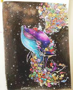 """Doodle Invasion by @sujin.kim #doodles #mandala #art #arttherapy…"