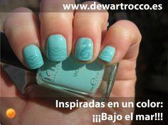 Dew Art Rocco: Día 21... Inspiradas en un color: ¡¡¡Bajo el mar!!!