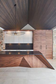 #kitchen #design Kitchen Designs, Garage Doors, Ceiling Lights, Lighting, Outdoor Decor, Home Decor, Decoration Home, Light Fixtures, Room Decor
