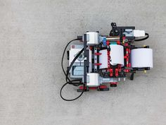 A Braille Printer Made From LEGO | Popular Science
