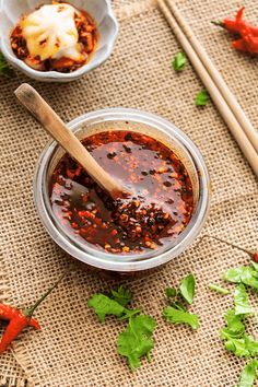 Once your try this homemade Sichuan Garlic Chilli Oil, you won't go back to the store-bought ones. It adds incredible flavour to every meal and is ready in under 10 minutes! Beef Kabob Marinade, Beef Kabobs, Chinese Garlic, Asian Recipes, Chinese Recipes, Chinese Food, Oriental, Hoisin Sauce, Dressings