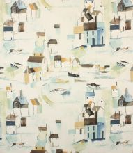 Save on our Duck Egg St Ives Contemporary Fabric. This Regular fabric is perfect for Curtains & Blinds. Curtain Material, Curtain Fabric, Fabric Design, Pattern Design, Dining Room Curtains, Sewing Room Decor, Contemporary Fabric, Nautical Home, St Ives