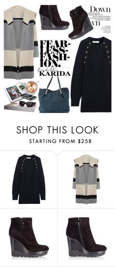 """""""Fearless Fashion/Fratelli Karida"""" by helenevlacho ❤ liked on Polyvore featuring Chloé, Vince, Fratelli Karida, Coccinelle and FratelliKarida"""