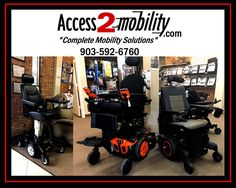 Tyler Texas, www.access2mobility.com Access 2 Mobility will help you with any wheelchair or scooter needs. #wheelchair #accessible #disability #mobility Tyler Texas, Wheelchairs, Disability, Outdoor Power Equipment, Scooters, Knowledge, Type, Products, Motor Scooters