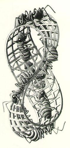 Maurits Escher | COMICSANDO comic art blog
