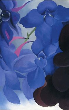 Beautiful Blues! Georgia O'Keeffe