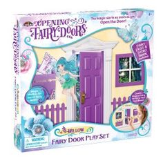 Purple Opening Fairy Door Play Set. Sold by Cra-z-art USA Art Activities For Kids, Crafts For Kids, Arts And Crafts, Opening Fairy Doors, Create A Fairy, Z Arts, Beautiful Hands, Fairies, Things To Sell