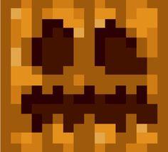 Papercraft Pumpkin/Jack-O-Lantern Head