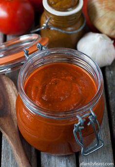 Homemade Enchilada Sauce - so much better than any jarred sauce! And only takes 20 minutes to make!
