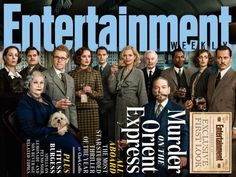 Murder on the Orient Express, coming to theaters, Nov. 2017 #MedinaLibrary #AgathaChristie #EntertainmentWeekly #BookstoMovies